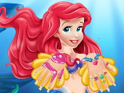 Ariel Nails Salon Game
