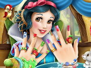 Snow White Nails Game