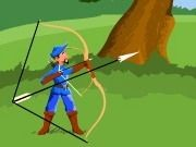 Blue Archer Game