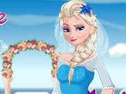 Elsa Bride Cooking Wedding Dish Game