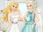 Disney Princess Wedding Models Game