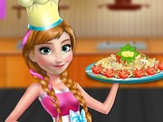 Anna Cooking Pasta Game