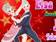 Elsa And Jack Salsa Dance Game