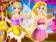 Disney Princesses Fairy Mall Game