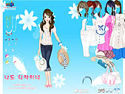 Spring Hat Dressup Game