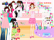 Birthday Dressup Game