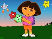 Dora Star Catching Game
