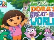 Dora Great Big World Game