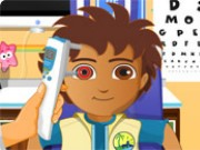 Dora And Diego Eye Clinic Game