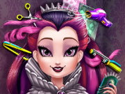 Raven Queen Real Haircuts Game
