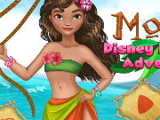 Moana Princess Adventure Game