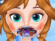 Frozen Anna Throat Care Game