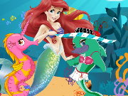 Ariel Underwater Contest Game