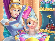 Cinderella Baby Wash Game