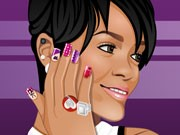 Top Nails With Rihanna Game