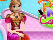 Princess Nail Caring Game