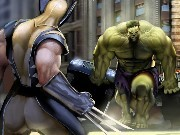 Hulk vs Wolverine Game