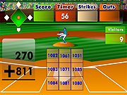 Batters Up Base Ball Math - Addition Edition Game