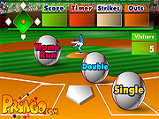 Batters Up Base Ball Math - Multiplication Edition Game