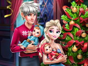 Elsa Family Christmas Game