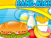 Go Fast Cooking Sandwiches Game