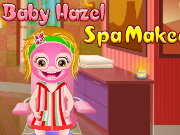 Baby Hazel Spa Makeover Game