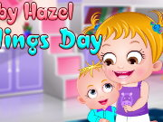 Baby Hazel Siblings Day Game