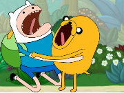 Adventure time jungle Game