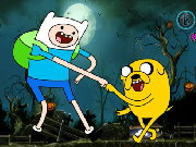 Adventure Time Halloween Game