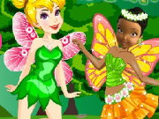 Tinkerbell vs Iridessa Fairy Battles Game