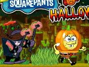 spongebob halloween lauf spiel