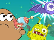 Pou Shoot Monster Game