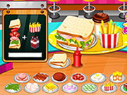 Sandwiches Maker Restaurant Game