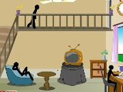 Stickman Death Living Room Game