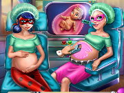 Hero BFF Pregnant Checkup Game