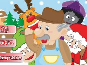 Uncle Sams Christmas Factory Game
