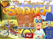 The Squirrel of Sandwich Game