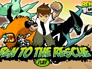 Ben 10 to the rescue Game