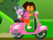 Dora Vespa Adventure Game