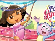 Dora Fantastic Gymnastics Adventure Game