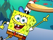 Spongebob Pizza Toss Game