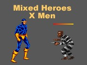 Mixed Heroes  X Men Game