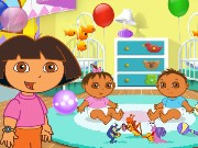 Dora the Babysitter Game