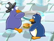 Penguin Cook Shop Game
