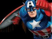 Captain America Red Skull and Crossbones Game