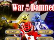 Power Ranger War Of The Damned Game