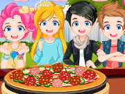 Pizza Maker Restaurant Game