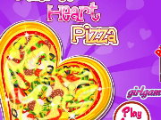 Delicious Heart Pizza Game