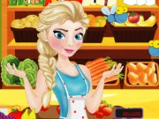 Elsa At Supermarket Game