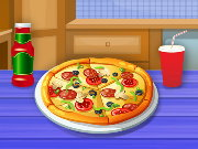Cooking Tasty Pizza Game